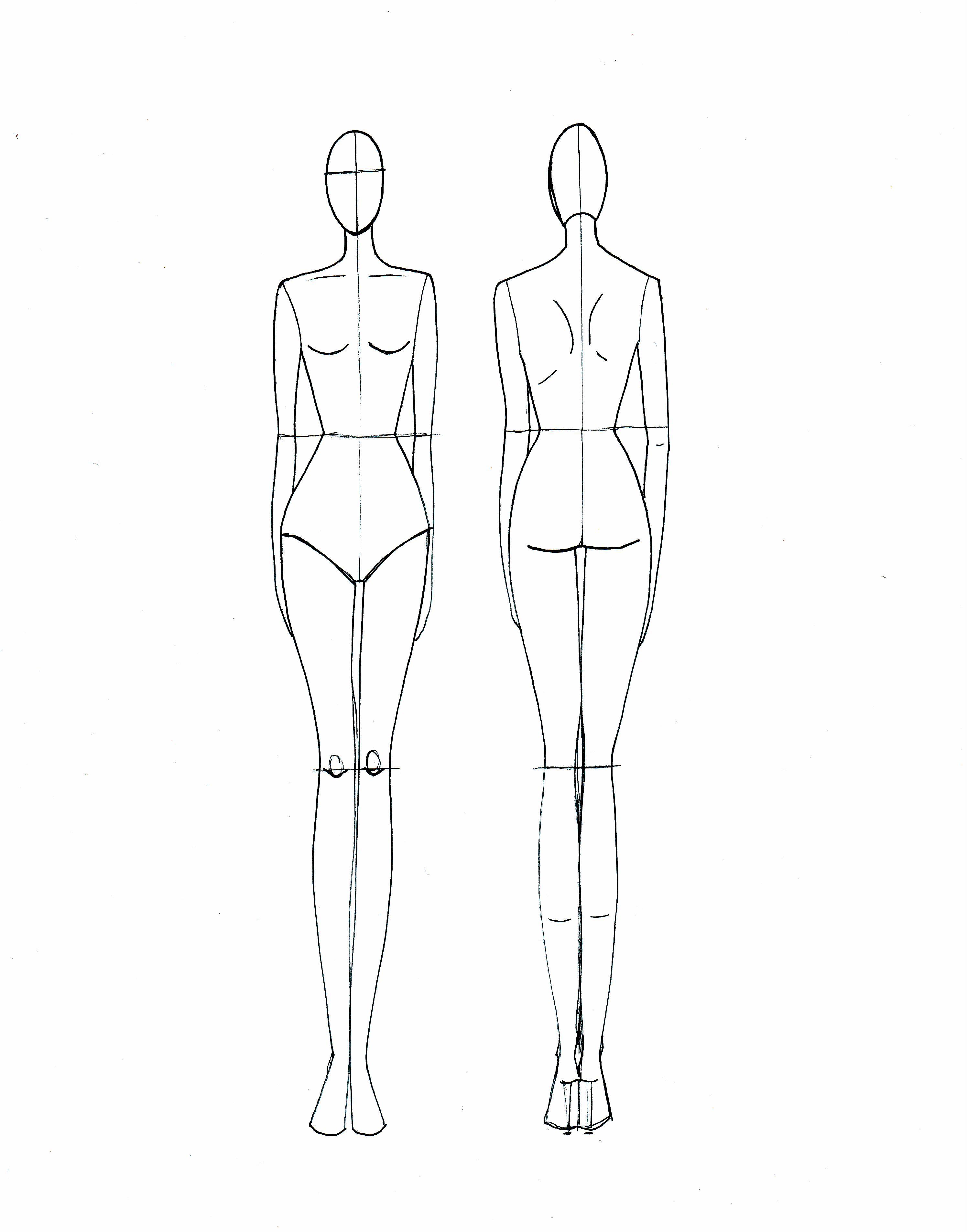Drawn templates  Fashion sketch me Drawing
