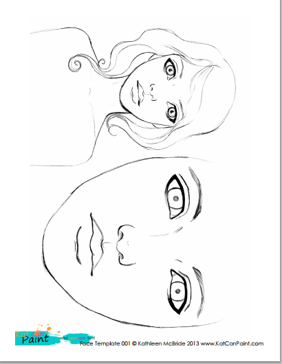 Drawn templates  To Face  to a
