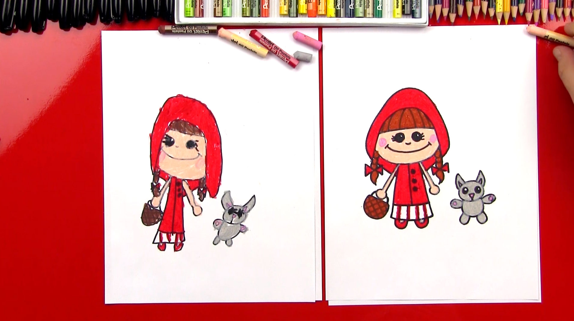 Drawn text little red riding hood Hub Art To  For