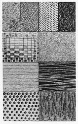 Drawn texture Dots visual visual a ten