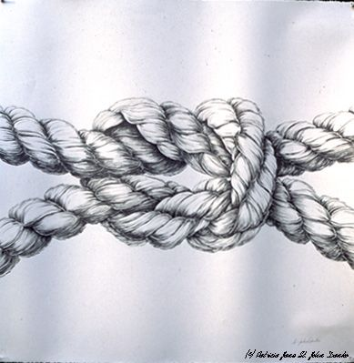 Drawn rope knotted rope Jane 25+ Drawing Rope John