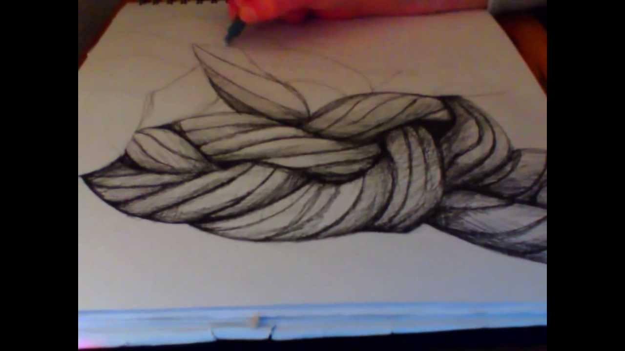 Drawn rope braided rope  Speed of Drawing YouTube