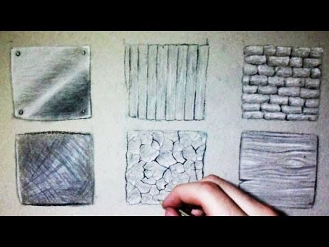 Drawn glass magnifying glass Textures (Wood stone textures Drawing