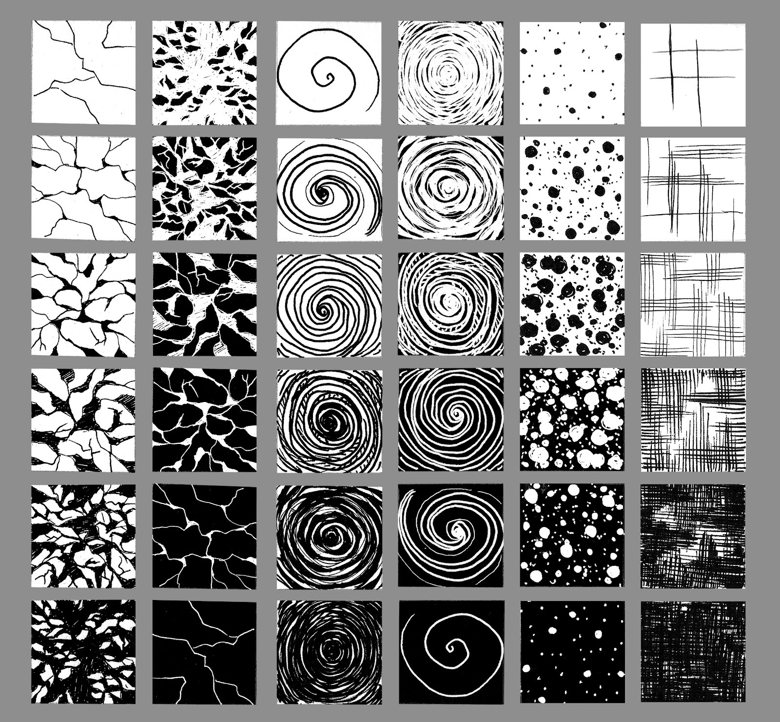 Drawn contrast texture HaNguyen: Examples custom textures Drawing