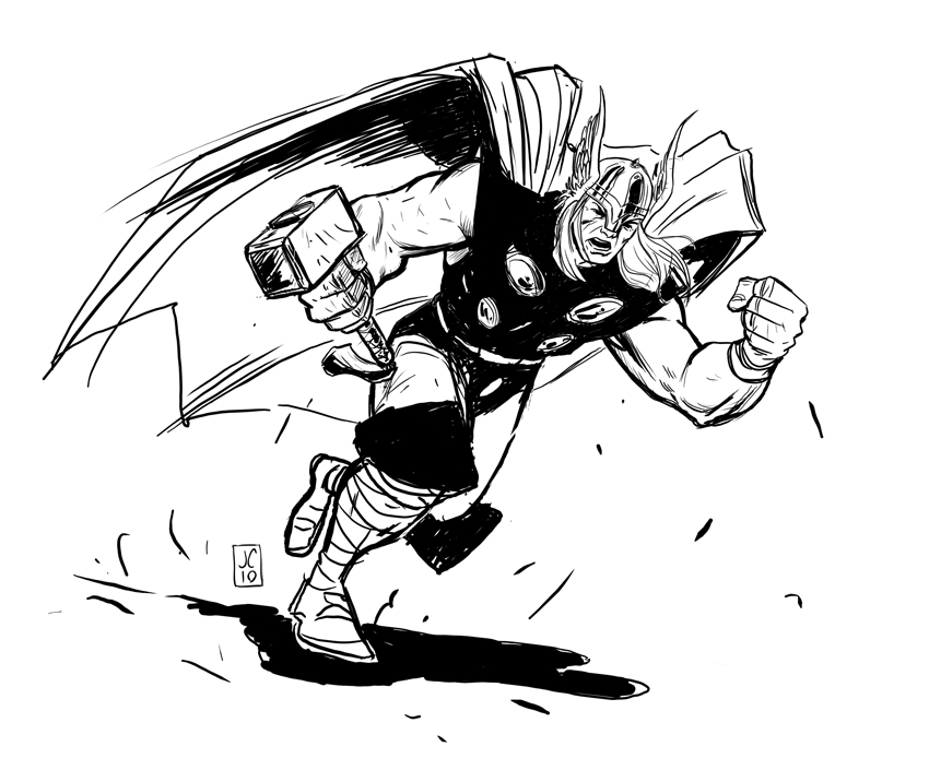 Drawn thor Thor by Download jasoncopland Best