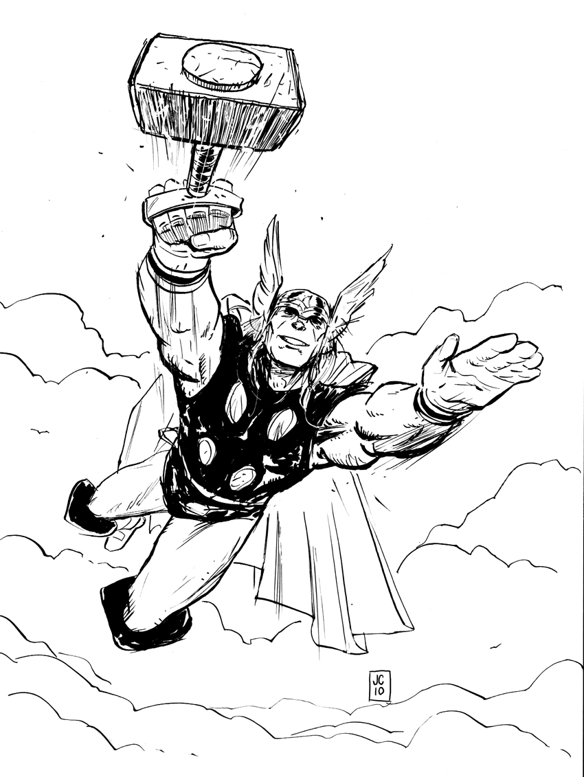 Drawn thor No Quarter Thor I