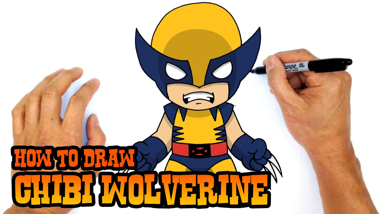 Drawn thor Drawing Wolverine How X X Wolverine Men