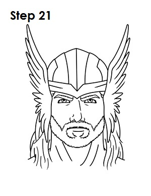Drawn thor Drawing Wolverine Draw How 21 to Draw