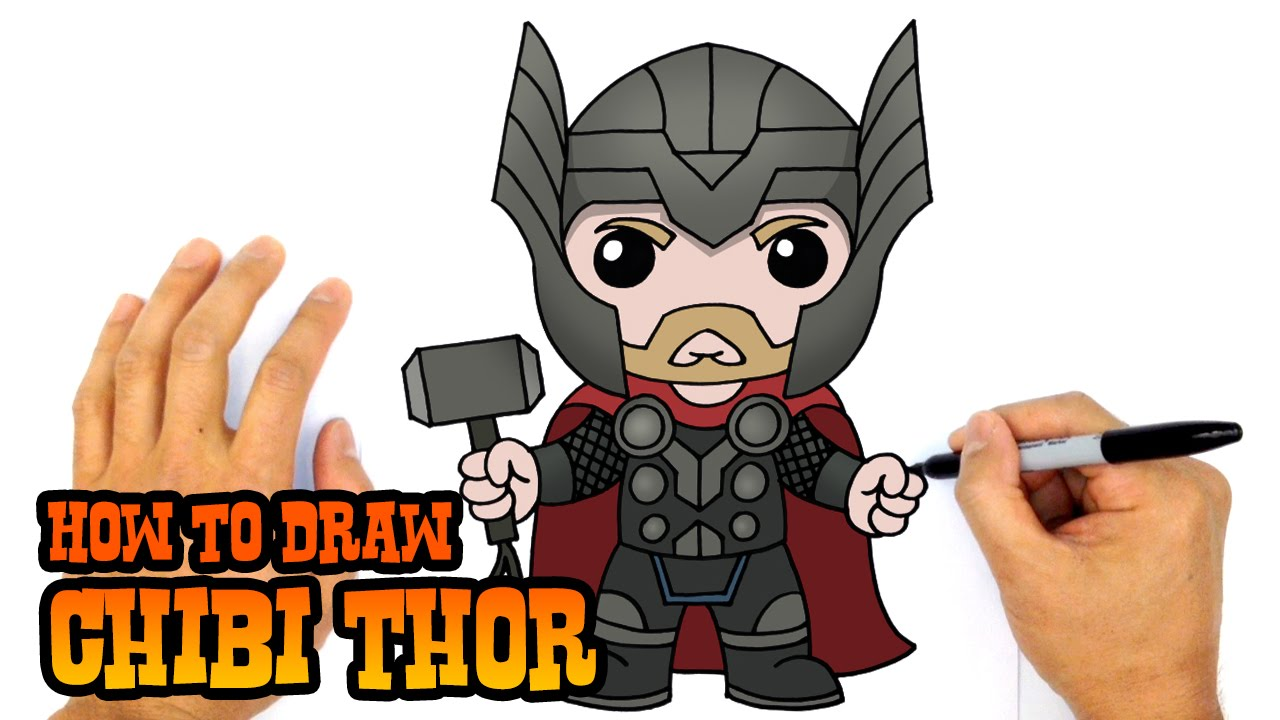Drawn thor Drawing Wolverine How The The Thor Avengers
