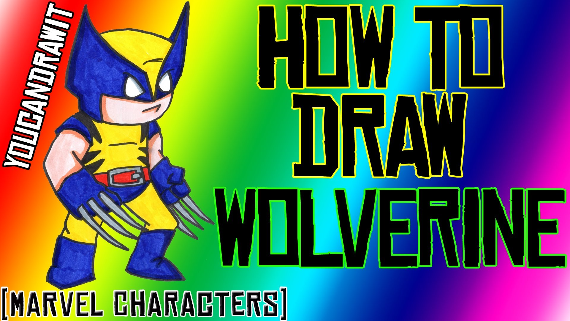 Drawn thor Drawing Wolverine  Characters ✎ YouCanDrawIt How