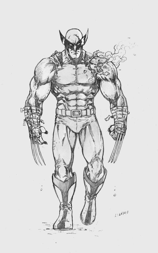 Drawn thor Drawing Wolverine Artist Recent Vine Provided drawings