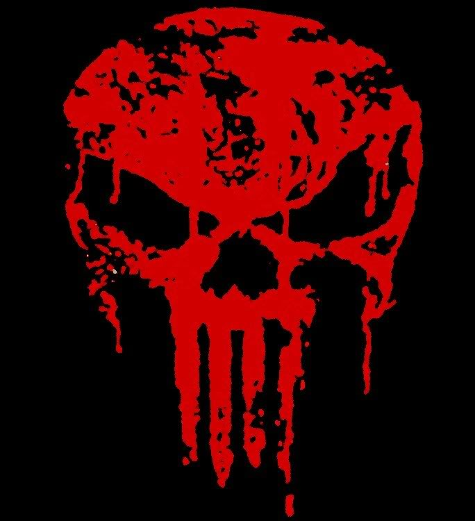 Drawn tie blood red Blood Ideas Punisher Blood Tattoo