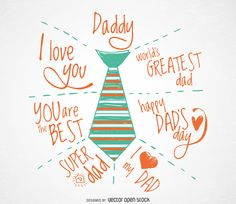 Drawn tie father's day Day Father's featuring in Day