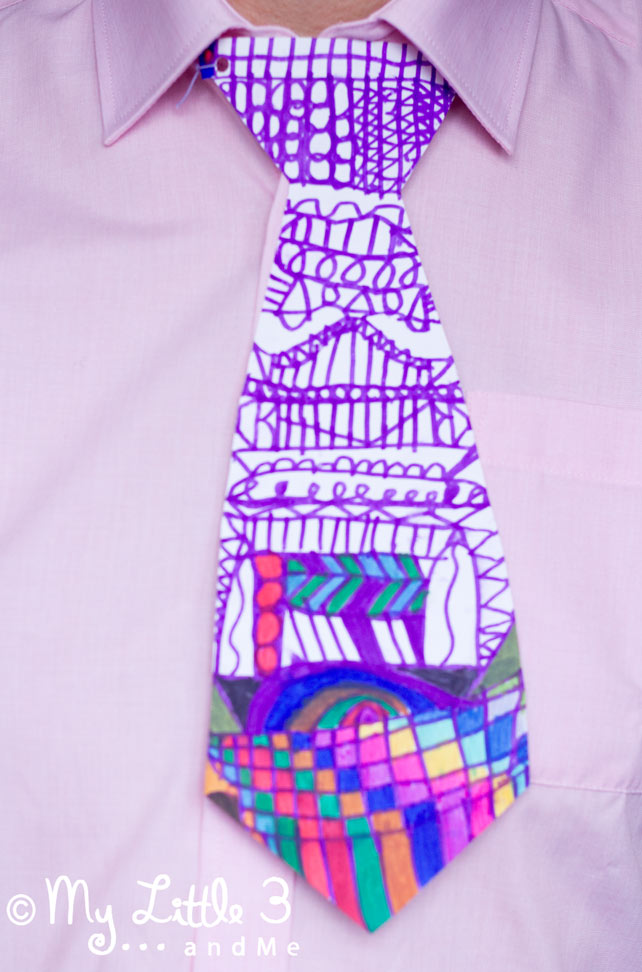 Drawn tie father's day FATHER'S ARTISTIC GIFTS hello CAN
