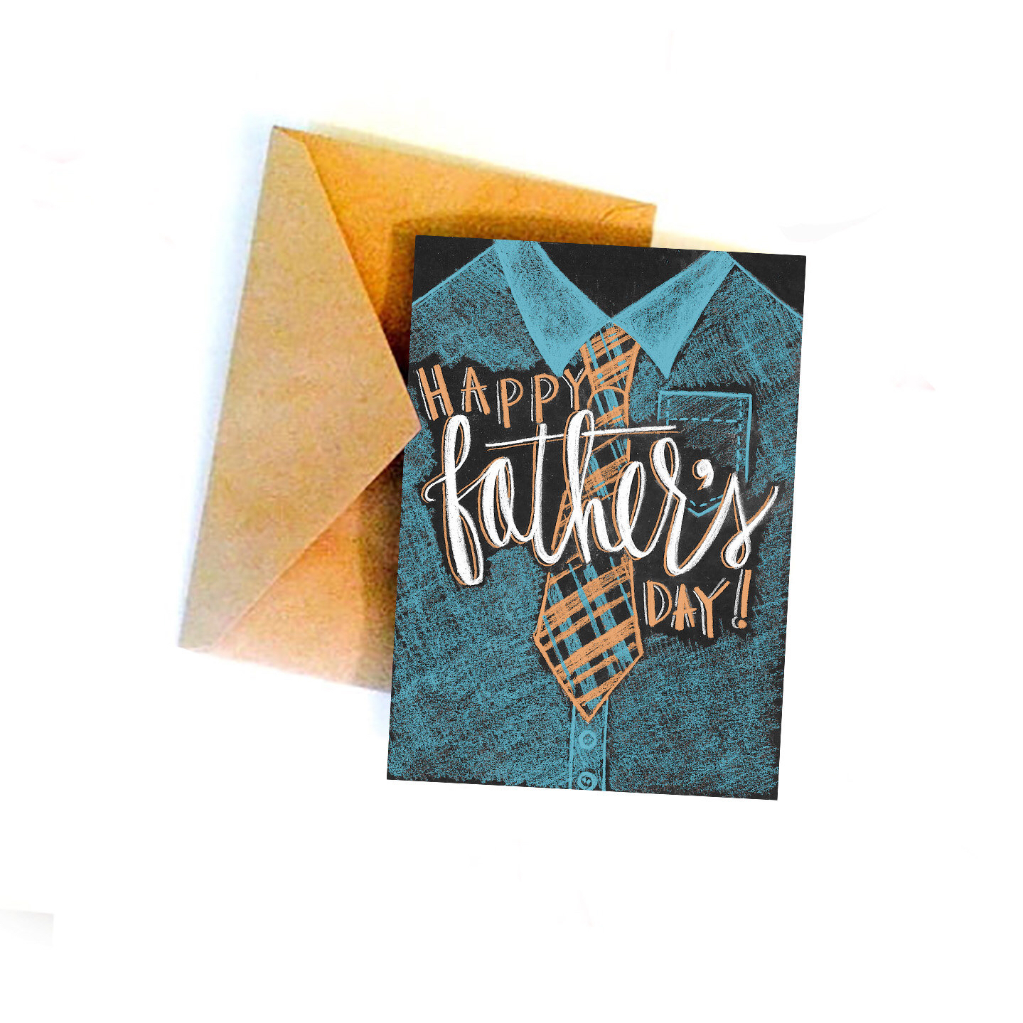 Drawn tie father's day Day Father's Shirt hand and