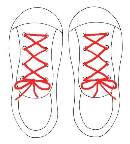 Drawn tie printable With printable MY Shoe Tie
