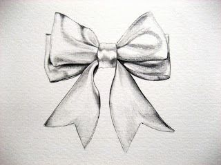 Drawn ribbon bow tie Bow 25+ drawing Bow on