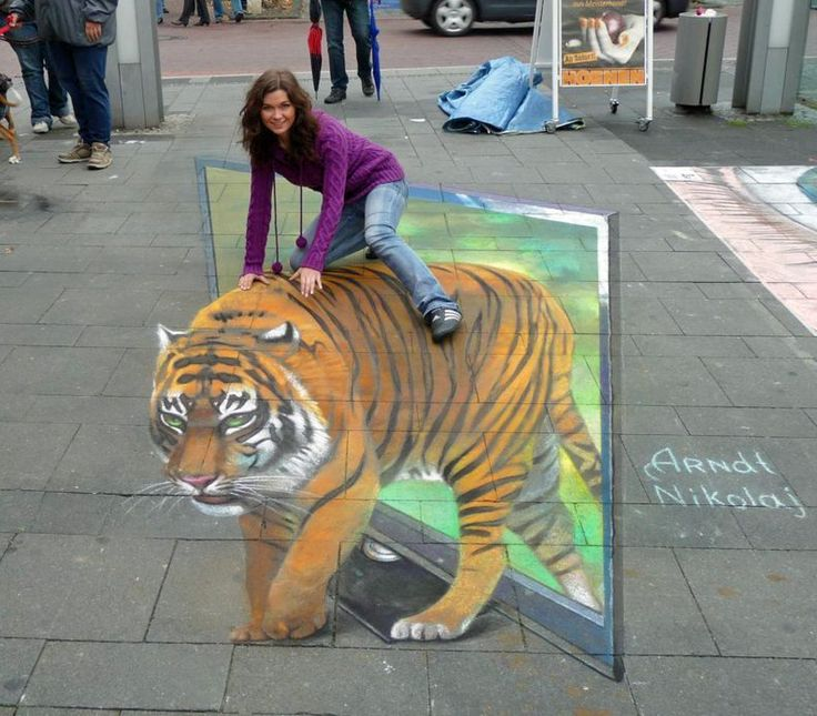 Drawn 3d art different angle #1