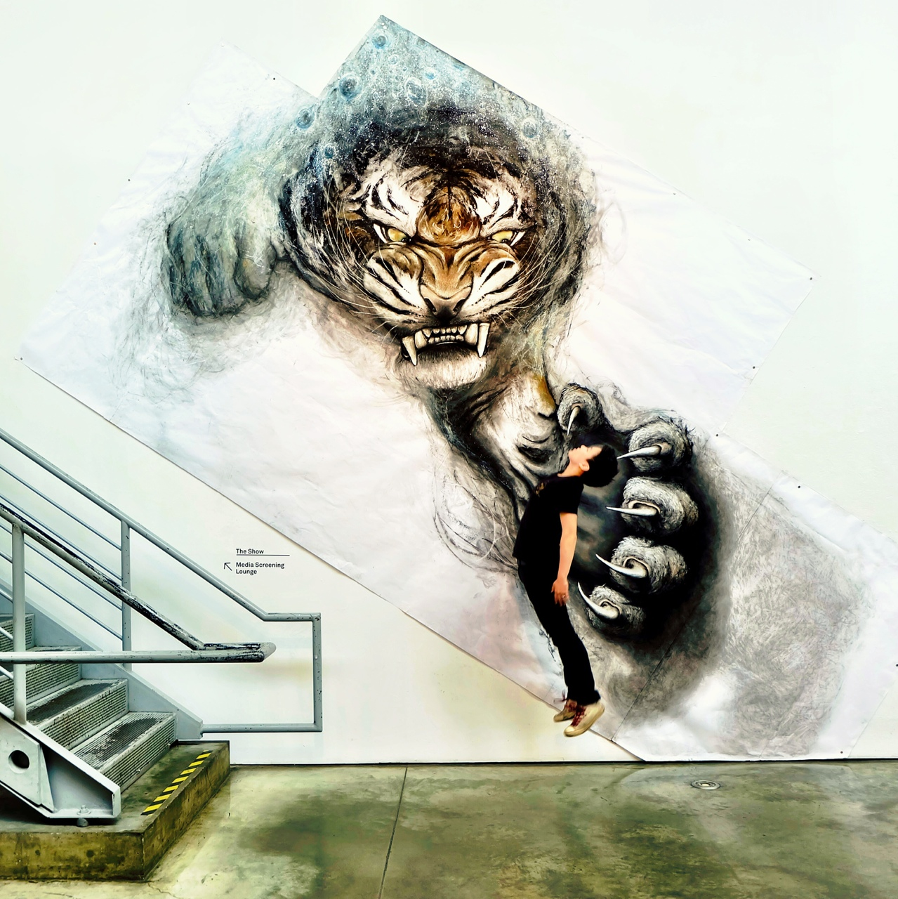 Drawn 3d art fiona tang  & Amazing Sculpture Paintings