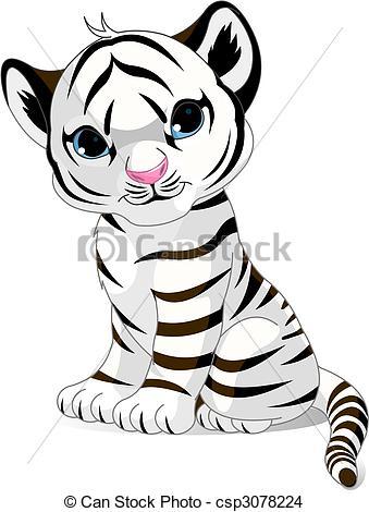 Tigres clipart drawn #5