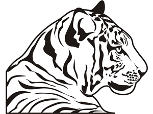 Drawn tigres profile Graphic to Design Designs submitted