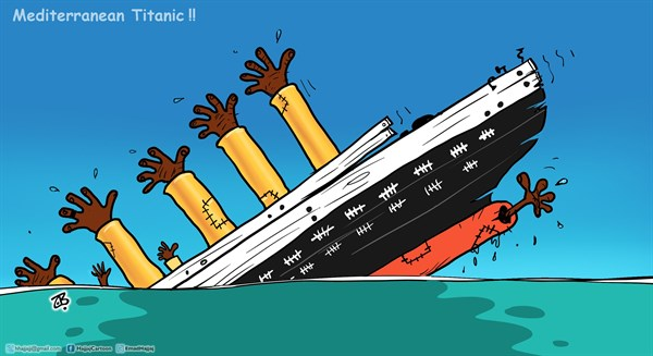 Drawn titanic cartoon English Cartoon Mediterranean com Emad