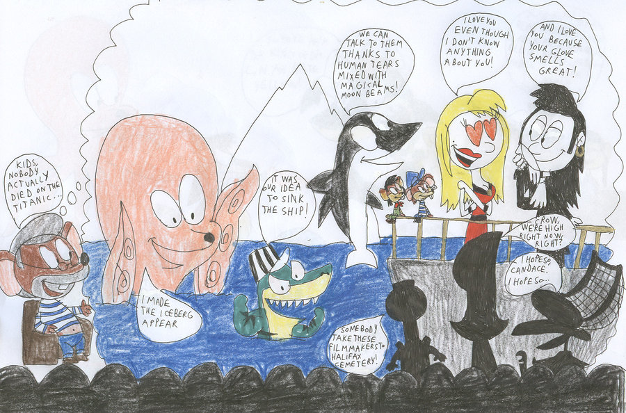 Drawn titanic cartoon Movie DeviantArt Titanic on MST3K: