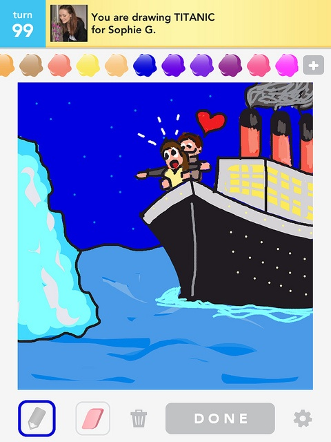 Drawn titanic draw something Draw best images Draw Pinterest