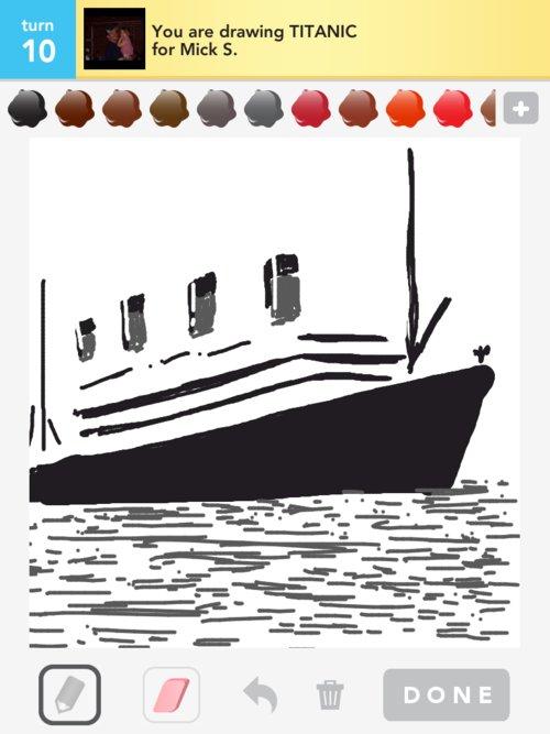 Drawn titanic draw something Draw  The Drawings titanic
