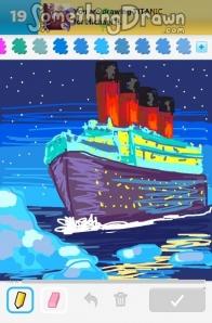 Drawn titanic draw something Of Something on SomethingDrawn