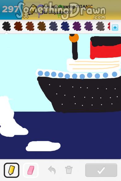 Drawn titanic draw something Sewingmeg drawn Draw SomethingDrawn Titanic
