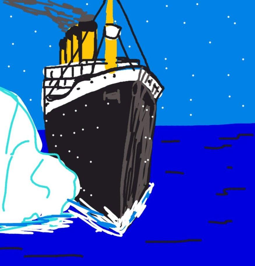 Drawn titanic draw something Something: DeviantArt KingOfMe by Something: