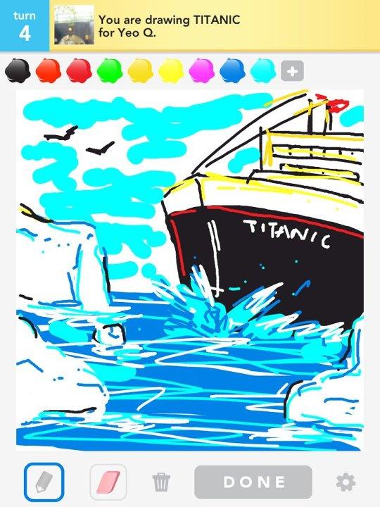 Drawn titanic draw something On Titanic by DeviantArt Something