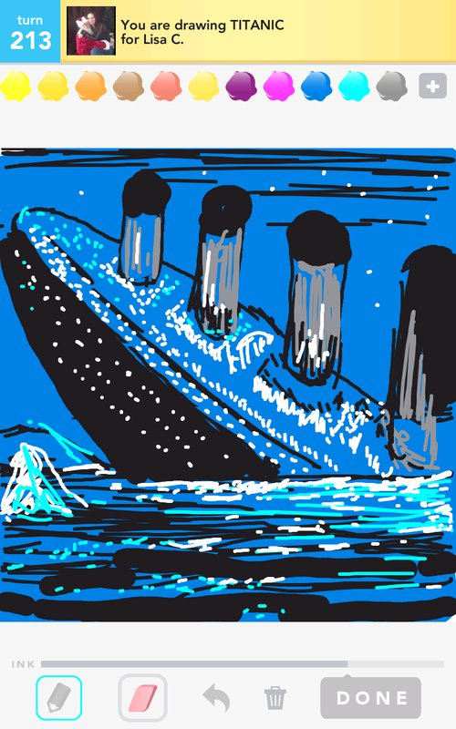 Drawn titanic draw something Titanic  to Draw Titanic