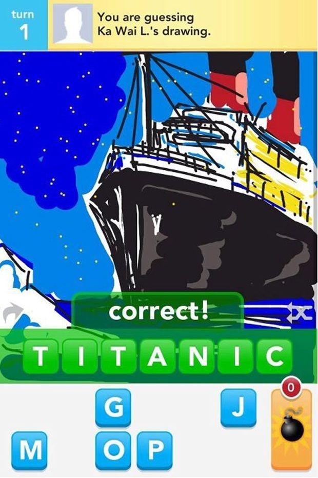 Drawn titanic draw something I've DrawSomething images 39 Pinterest