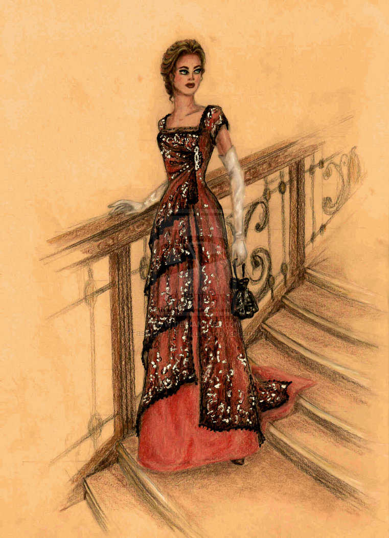 Drawn titanic front DInner drawing of FashionARTventures Titanic