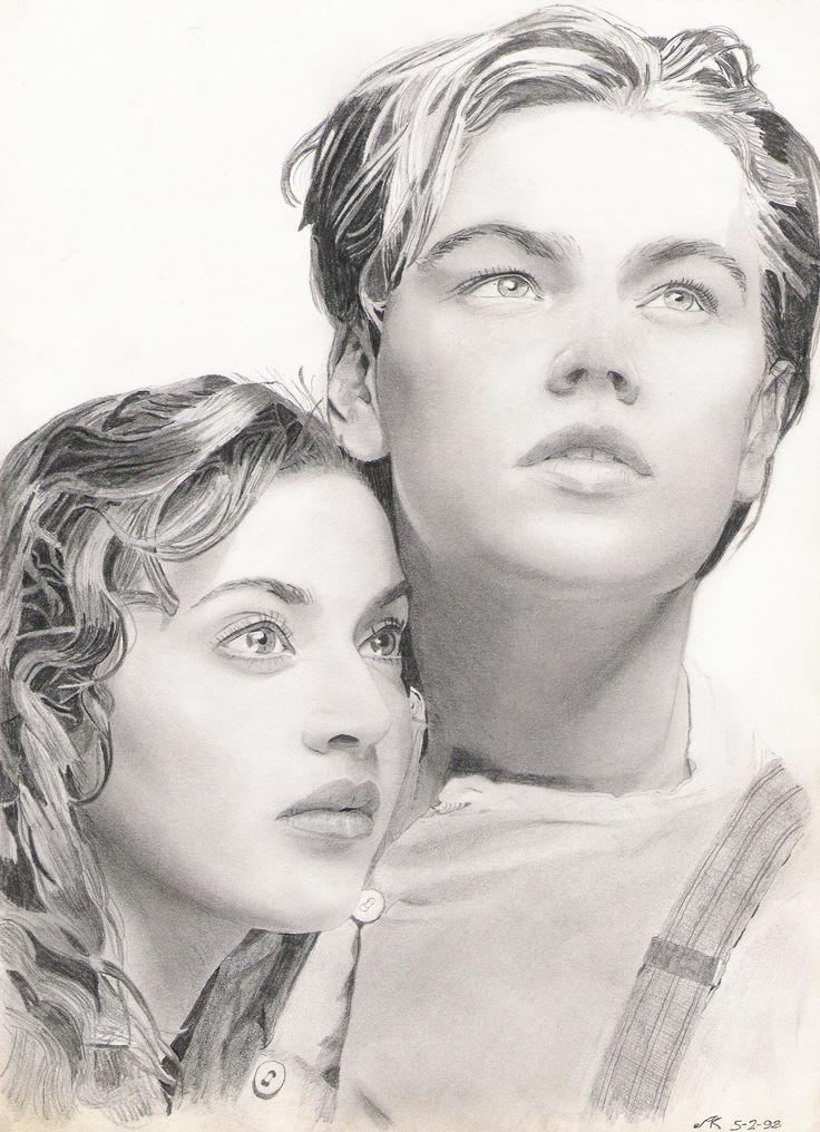 Drawn titanic original Rose ++++  Dawson Titanic