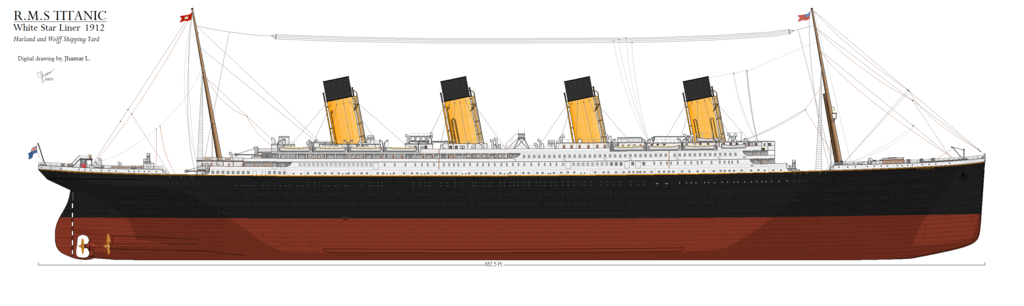 Drawn titanic side view Inspiration: Special by Thanks thanks