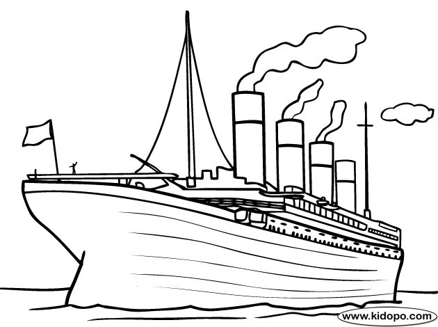 Drawn titanic simple Titanic best Art on Titanic