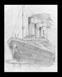 Drawn titanic simple The how draw Step titanic