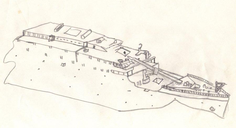 Drawn titanic titanic 2 Old 2 DeviantArt Drawing by