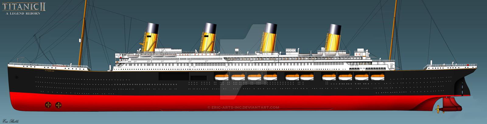Drawn titanic titanic 2 ERIC RMS inc SIDE II