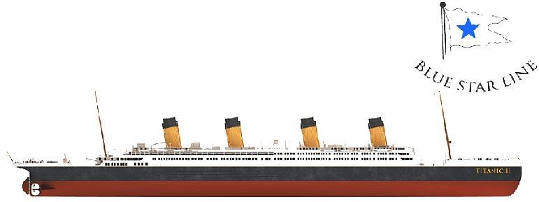 Drawn titanic titanic 2  II LINE TITANIC STAR
