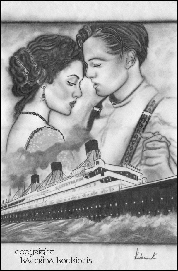 Drawn titanic titanic movie jack Rose Titanic And Jack Drawing