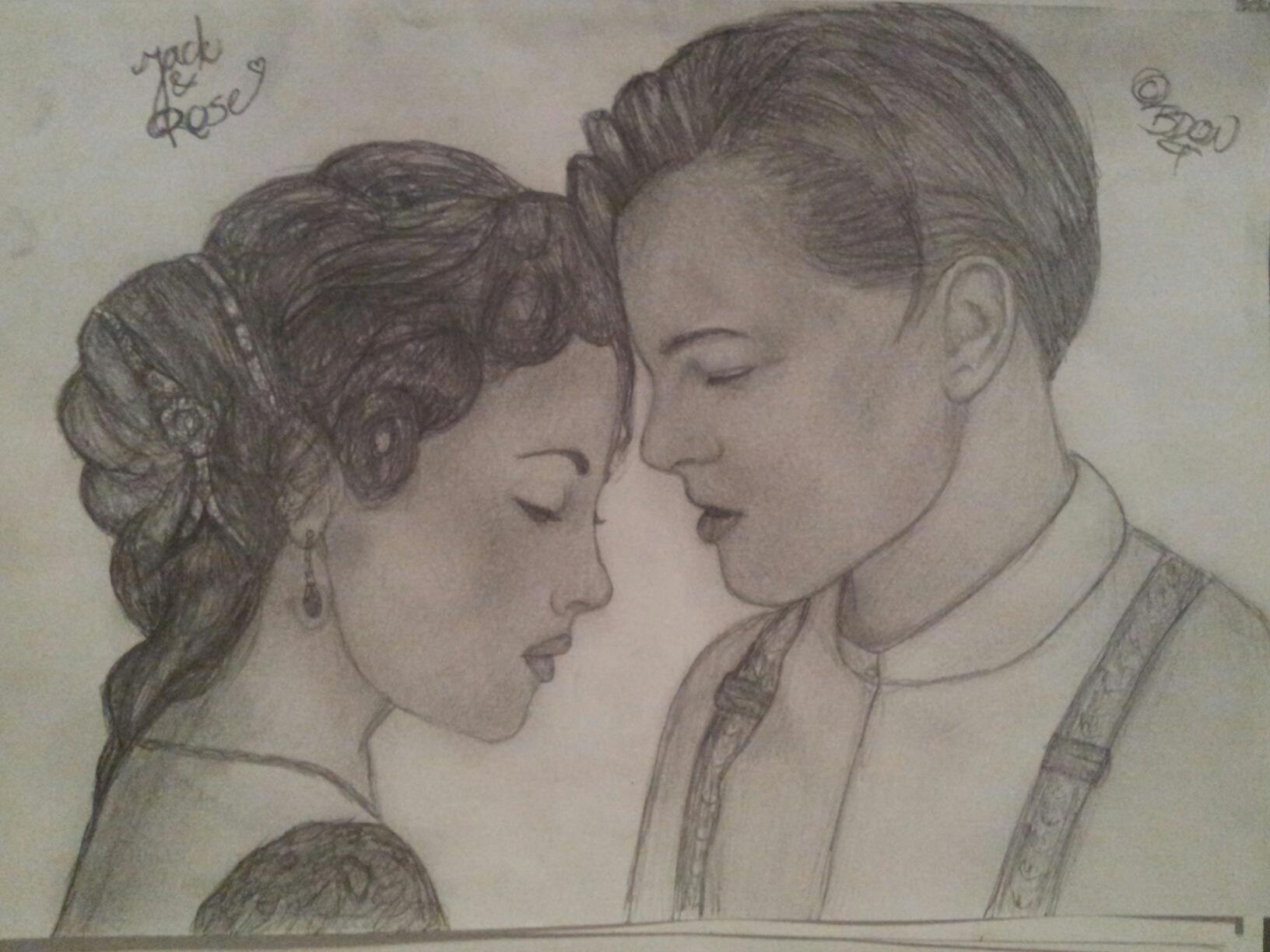 Drawn titanic titanic movie jack Imgur Drawing the & jpg