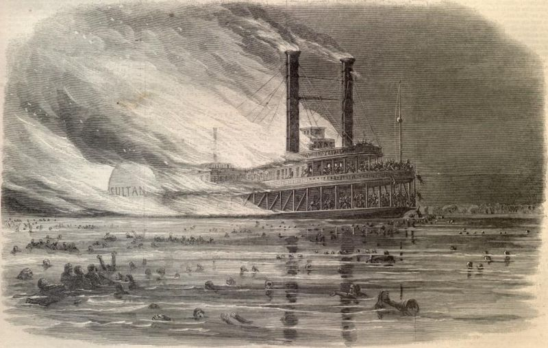 Drawn titanic titanic sinking Drawing This Sultana Harpers Weekly