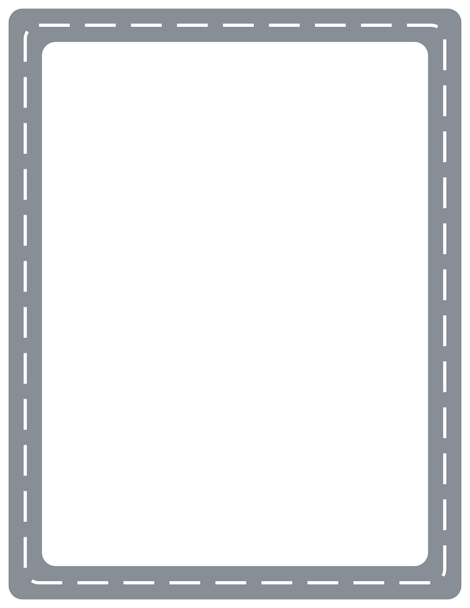 Drawn road border clip art Border GIF and Free border
