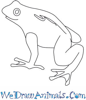 Drawn toad curved  How to Draw Golden