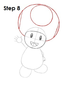 Drawn toad curved  How to Draw (Nintendo)