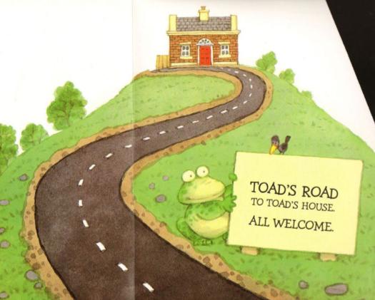 Drawn toad road milestone Road Illustration Toad Books Usborne